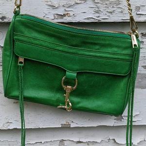 kelly green Rebecca Minkoff bag